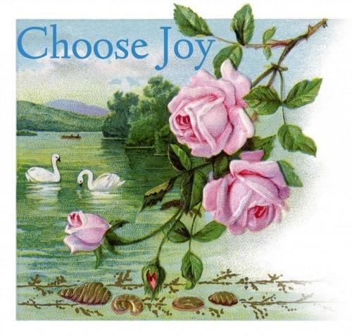 Choose Joy - IntentionallyPursuing.com