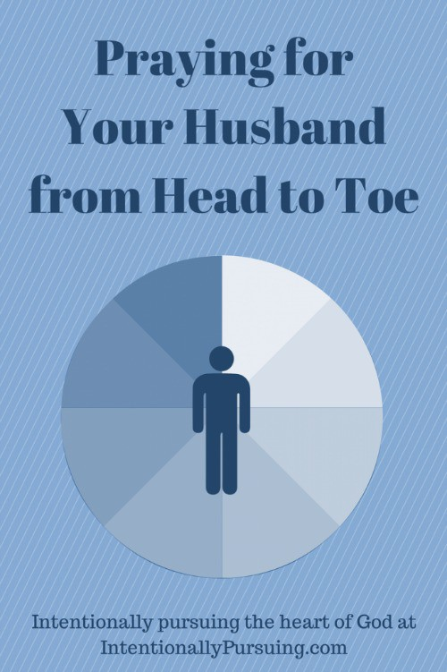 Praying for Your Husband from Head to Toe - IntentionallyPursuing.com