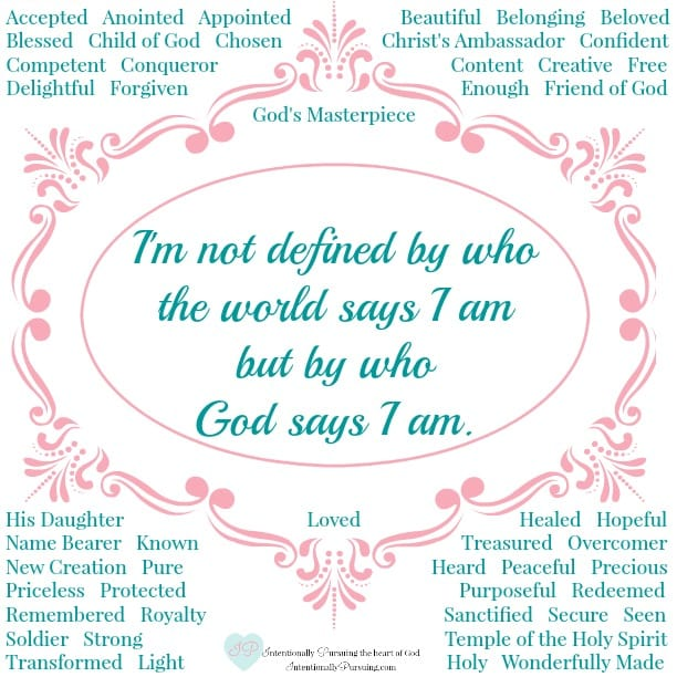 Seeing Ourselves Through the Eyes of God - Conclusion Printable